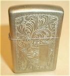 J Zippo Xi (1995) Venetian Brass Lighter