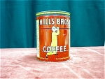Vintage Hills Bros. 2 Lb. Coffee Tin