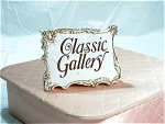 Classic Gallery Collectibles Sign By Napco