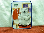 1996 Coca Cola Polar Bear Tin