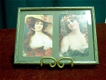 2 Victorian Ladies Split Picture