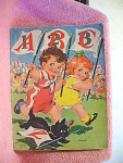 A B C, 1 2 3 Children's Book By Ethel Hays From 1943