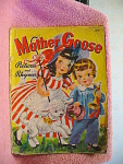 1942 Mother Goose Pictures And Rhymes Children's Book