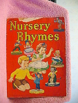 1942 Nursery Rhymes Children's Book By Mary Alice Stodd