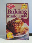 Baking Made Easy By Betty Crocker, No. 74