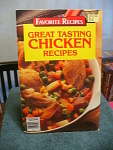 Favorite Recipes Great Tasting Chicken Recipes