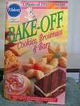 1997 Pillsbury Bake Off Cookies, Brownies & Bars