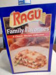 Ragu Family Favorites Recipes Cook Booklet