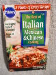 1999 Pillsbury The Best Of Italian, Mexican & Chinese