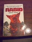 Rabid By David Anne, A Horror Thriller