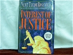 Interest Of Justice By Nancy Taylor Rosenberg