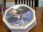 Red Five X-wing Fighter Collector Plate By The Hamilton