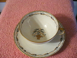 G. Ahrenfelot Limoges France Cup And Saucer