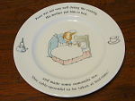 1993 Wedgwood Peter Rabbit Plate, Part Of A Series