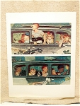 The Outing, A Norman Rockwell Print