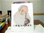 Christmas And Tea Time, A Norman Rockwell Print