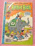 Richie Rich The Poor Little Rich Boy Comic Book No. 203