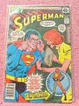 Superman Comic Book, No. 330 In Good To Fair Condition