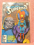 Superman Comic Book, No. 3, March 1987