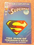 Superman Comic Book, Europe Edition No. 78, June 1993