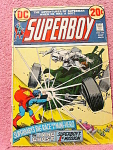 Superboy Comic Book Volume 1, No. 196, 1973