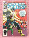 Power Man And Iron Fist Comic Book No. 112