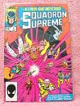 Squadron Supreme, No. 1 In A 12 Issue Series Comic Book