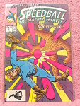 Speedball, The Masked Marvel Comic Book No. 8