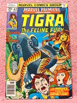 Tigra The Feline Fury Comic Book No. 42
