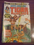 1979 Marvel Chillers No. 4 Featuring Tigra The Were Wom