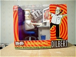 Dilbert Electronic M&ms Candy Dispenser, Mib