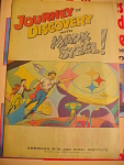 1967 Journey Of Discovery With Mark Steel Comic Book