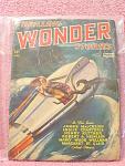 Thrilling Wonder Stories Newsstand Pulp Novel October 1
