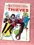 Xtraterrestrial Thieves Comic, No. 4 By Comics Intervie