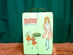 1963 Skipper Doll And Doll Case With More