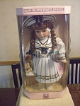 Collectible Memories Lily Sailor Girl Porcelain Doll
