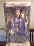 Collectible Memories Veronica Porcelain Doll