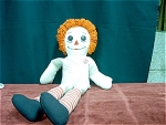 2 Foot Raggedy Ann With Button Eyes