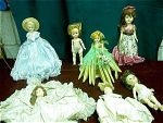7 Vintage Dolls Collection