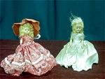 2 Vintage Hard Plastic Dolls