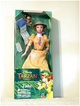 Jane Doll From Disneys Tarzan Animated Movie, Mib