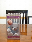Gray Britney Spears Limited Edition Bean Bear, Mib