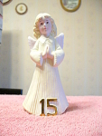 Year 15 Girl Angel Figurine