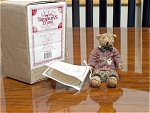 Mib Tomkins Trunk Teddy Bear Figurine