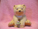 Gund Honey Bear Pottery Figurine