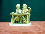 Figural Of 2 Children Praying