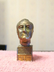 Franklin Delano Roosevelt, 1882 To 1945 Metal Bust