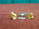 3 Animal Figurines Including 2 Wades