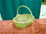 Reed Woven Buttocks Basket