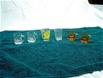 6 Shot Glasses By Federal Glass